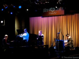 Theodosii Spassov trio with Hilda Kazasian in Blue Note Japan