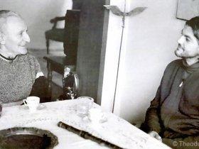 Theodosii Spassov with Yordan Radichkov
